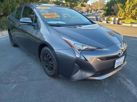 2016 Toyota Prius for sale at CAR CITY SALES in La Crescenta CA