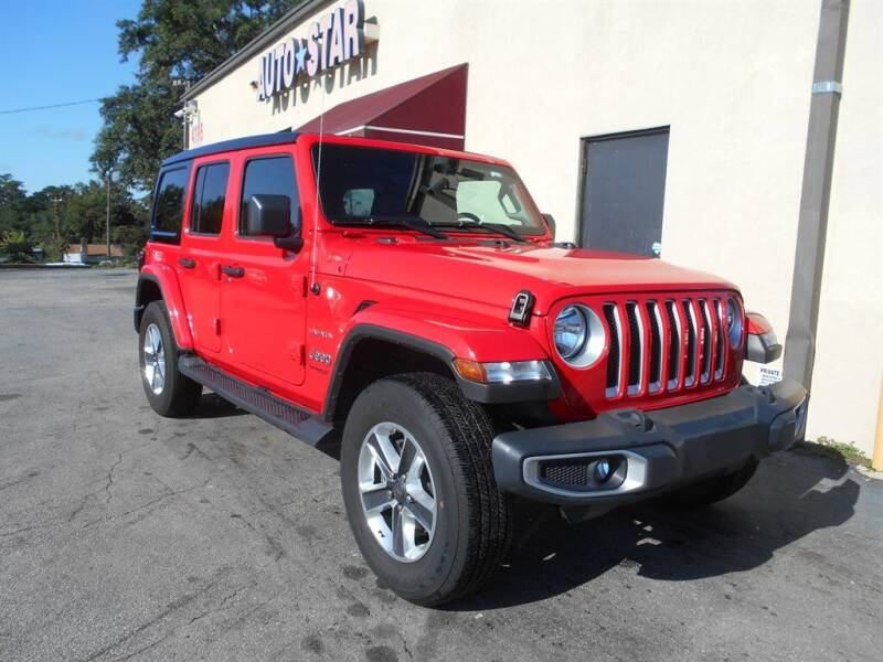 2020 Jeep Wrangler Unlimited for sale at AutoStar Norcross in Norcross GA