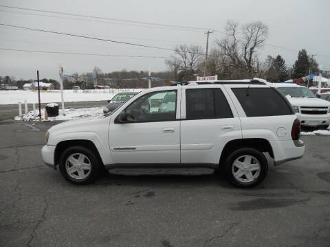 2002 Chevrolet TrailBlazer for sale at All Cars and Trucks in Buena NJ
