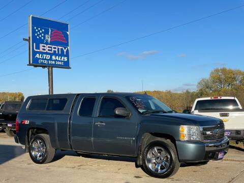 2009 Chevrolet Silverado 1500 for sale at Liberty Auto Sales in Merrill IA
