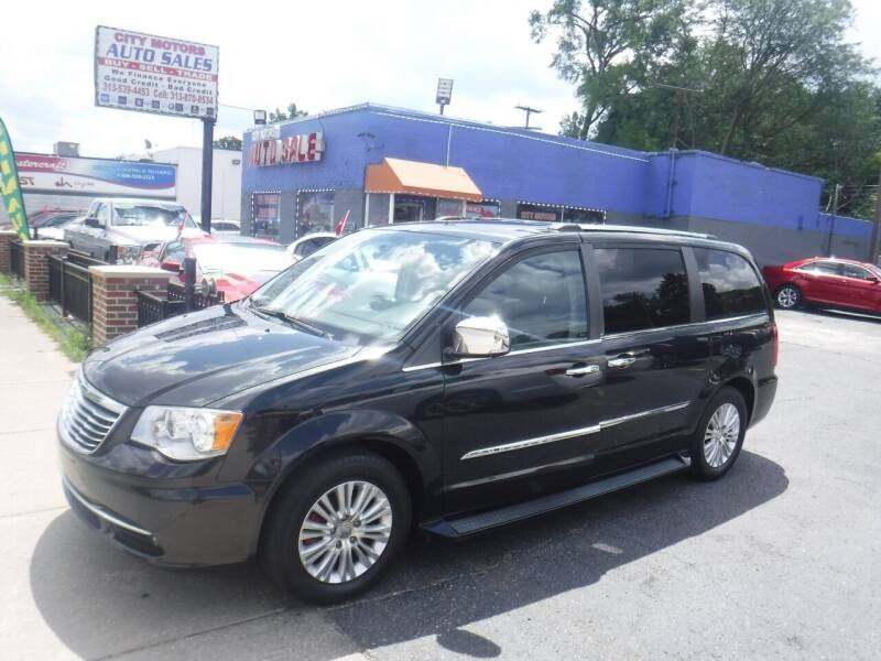 2013 Chrysler Town and Country for sale at City Motors Auto Sale LLC in Redford MI