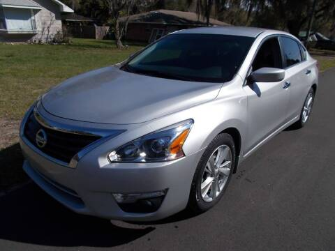 2013 Nissan Altima for sale at LANCASTER'S AUTO SALES INC in Fruitland Park FL