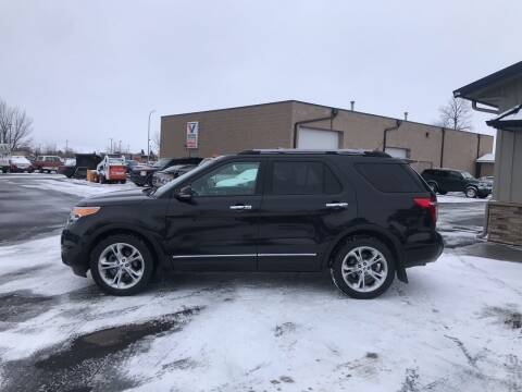 2012 Ford Explorer for sale at Crown Motor Inc in Grand Forks ND