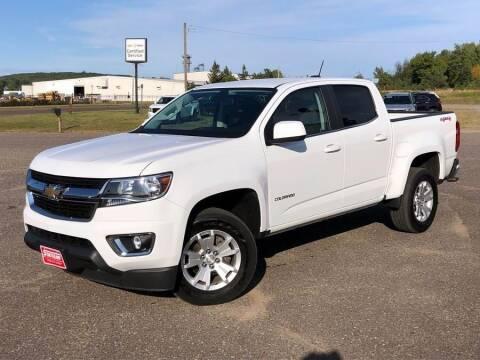 2019 Chevrolet Colorado for sale at STATELINE CHEVROLET BUICK GMC in Iron River MI