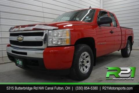 2009 Chevrolet Silverado 1500 for sale at Route 21 Auto Sales in Canal Fulton OH