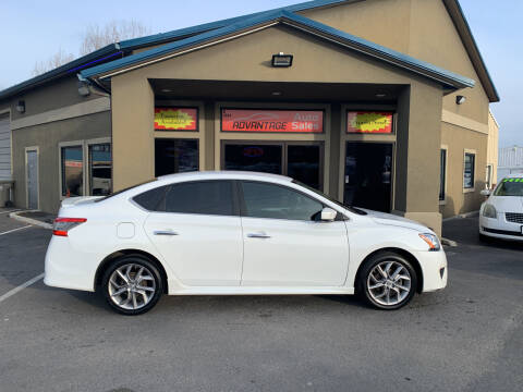 2014 Nissan Sentra for sale at Advantage Auto Sales in Garden City ID