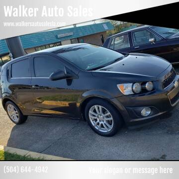 2013 Chevrolet Sonic for sale at Walker Auto Sales and Towing in Marrero LA