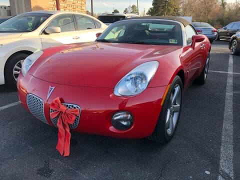 2007 Pontiac Solstice for sale at City to City Auto Sales in Richmond VA