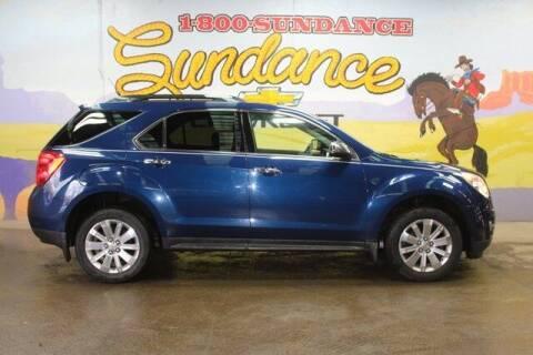 2010 Chevrolet Equinox for sale at Sundance Chevrolet in Grand Ledge MI
