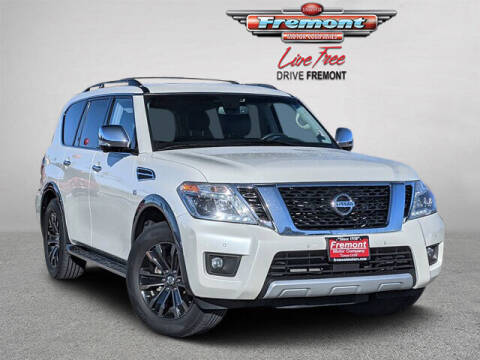 2017 Nissan Armada for sale at Rocky Mountain Commercial Trucks in Casper WY