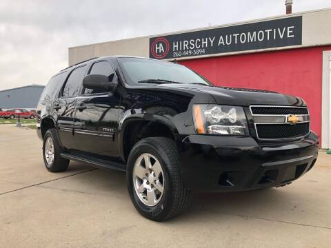 2014 Chevrolet Tahoe for sale at Hirschy Automotive in Fort Wayne IN