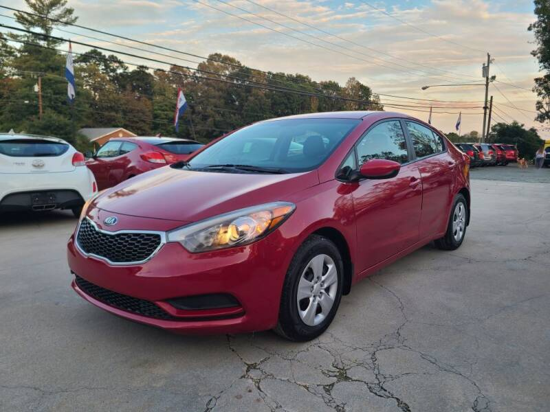 2014 Kia Forte for sale at DADA AUTO INC in Monroe NC