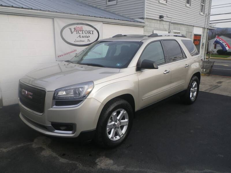2016 GMC Acadia for sale at VICTORY AUTO in Lewistown PA