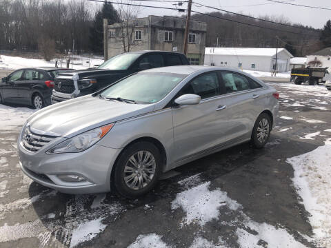 2011 Hyundai Sonata for sale at Edward's Motors in Scott Township PA