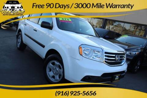 2013 Honda Pilot for sale at West Coast Auto Sales Center in Sacramento CA