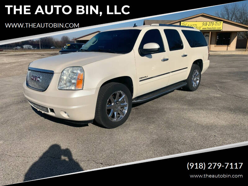 2013 GMC Yukon XL for sale at THE AUTO BIN, LLC in Broken Arrow OK