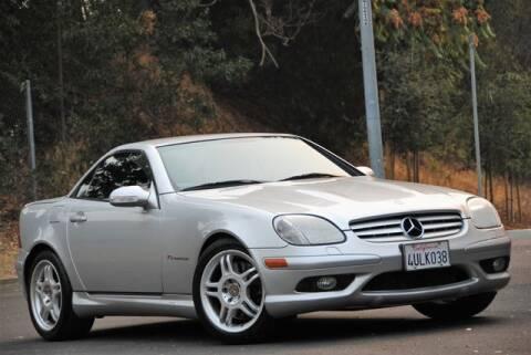2002 Mercedes-Benz SLK for sale at VSTAR in Walnut Creek CA