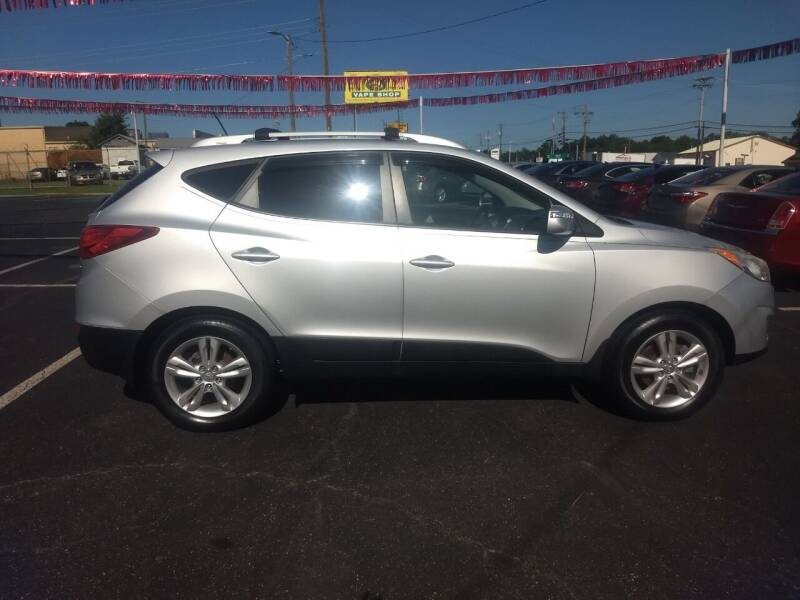 2013 Hyundai Tucson for sale at Kenny's Auto Sales Inc. in Lowell NC