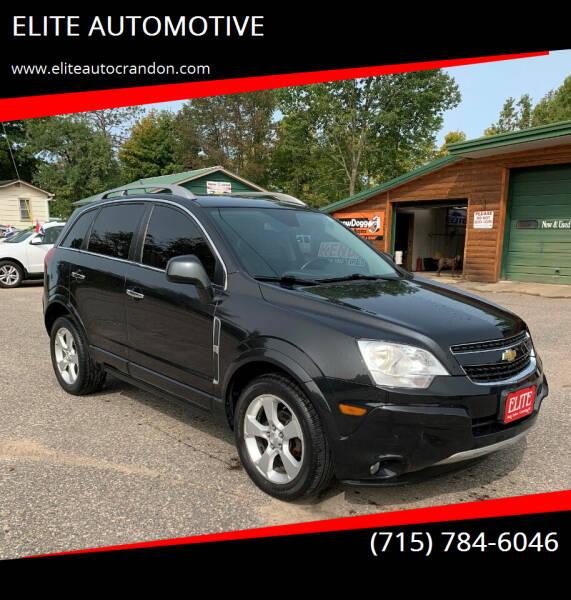 2014 Chevrolet Captiva Sport for sale at ELITE AUTOMOTIVE in Crandon WI