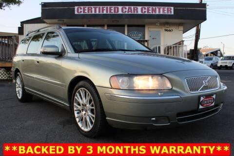 2007 Volvo V70 for sale at CERTIFIED CAR CENTER in Fairfax VA