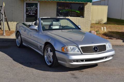 2001 Mercedes-Benz SL-Class for sale at Eastep's Wheels in Lincoln NE