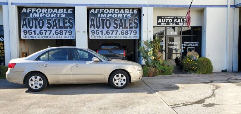 2009 Hyundai Sonata for sale at Affordable Imports Auto Sales in Murrieta CA