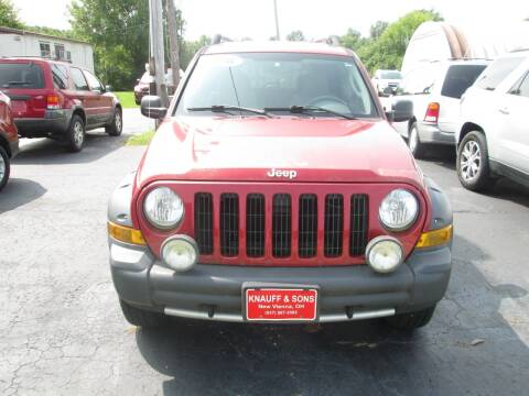 2006 Jeep Liberty for sale at Knauff & Sons Motor Sales in New Vienna OH