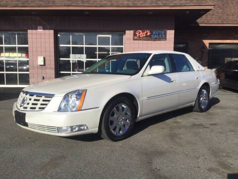 2011 Cadillac DTS for sale at Pat's Auto Sales, Inc. in West Springfield MA