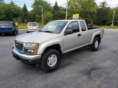 2008 GMC Canyon for sale at Motorsports Motors LLC in Youngstown OH