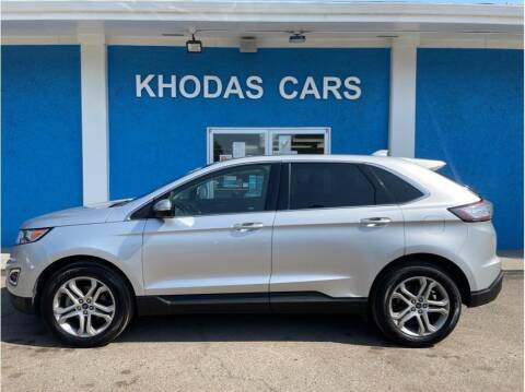 2017 Ford Edge for sale at Khodas Cars in Gilroy CA