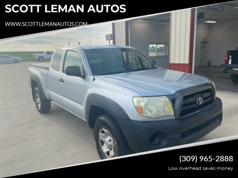2006 Toyota Tacoma for sale at SCOTT LEMAN AUTOS in Goodfield IL