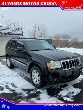 2008 Jeep Grand Cherokee for sale at AUTOMIX MOTOR GROUP, LLC in Swansea MA