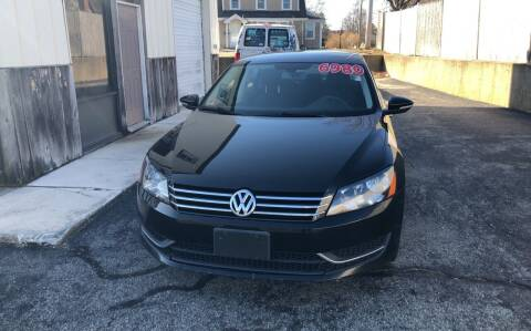 2012 Volkswagen Passat for sale at MBM Auto Sales and Service - MBM Auto Sales/Lot B in Hyannis MA