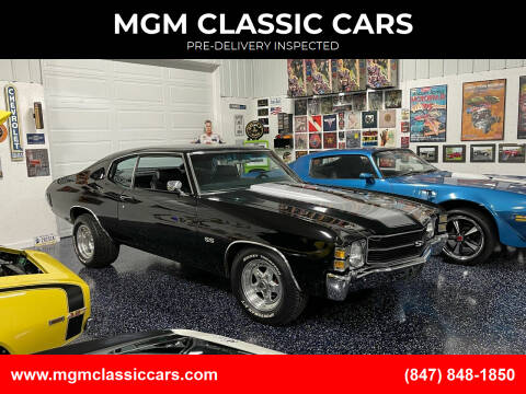 1971 Chevrolet Chevelle for sale at MGM CLASSIC CARS-New Arrivals in Addison IL