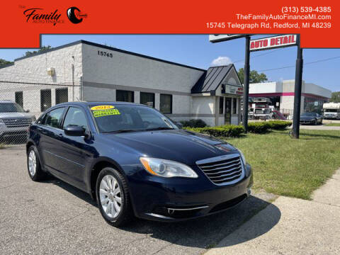 2013 Chrysler 200 for sale at The Family Auto Finance in Redford MI