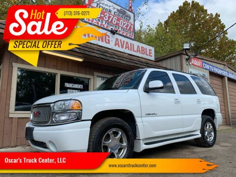 2003 GMC Yukon for sale at Oscar's Truck Center, LLC in Houston TX
