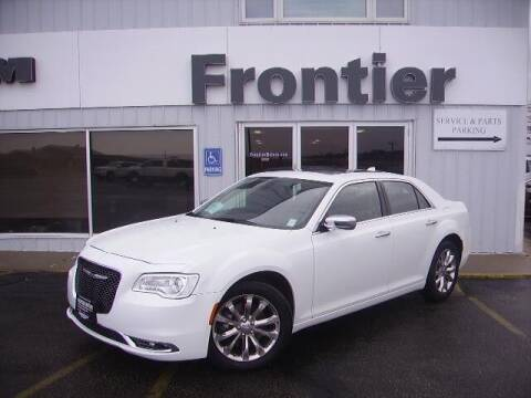 2019 Chrysler 300 for sale at Frontier Motors Automotive, Inc. in Winner SD