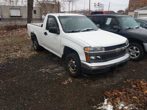 2006 Chevrolet Colorado for sale at Sprinkle's Auto Sales LLC in Marion OH