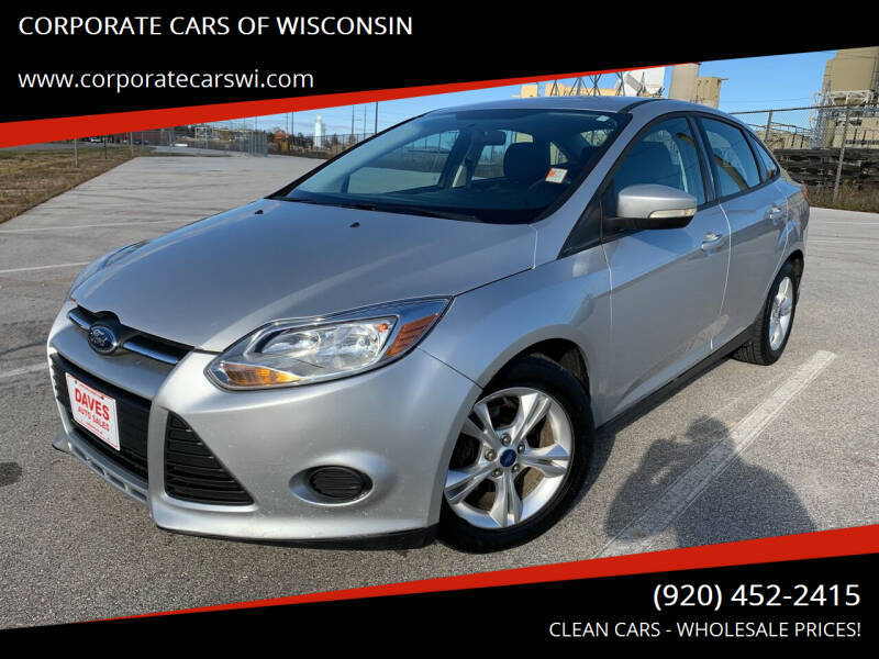 2013 Ford Focus for sale at CORPORATE CARS OF WISCONSIN - DAVES AUTO SALES OF SHEBOYGAN in Sheboygan WI