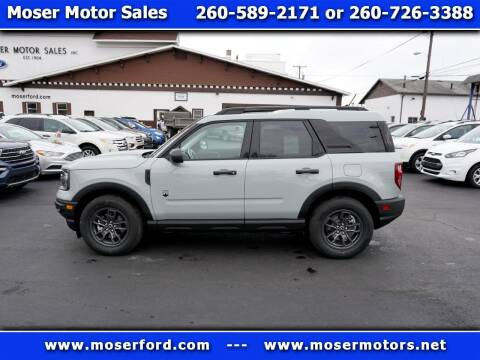 2021 Ford Bronco Sport for sale at Moser Motors Of Portland in Portland IN