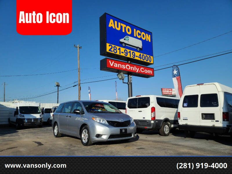 2015 Toyota Sienna for sale at Auto Icon in Houston TX