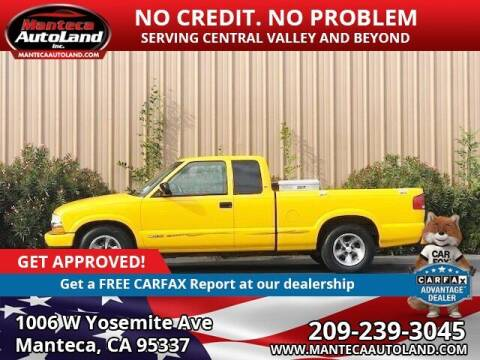2003 Chevrolet S-10 for sale at Manteca Auto Land in Manteca CA