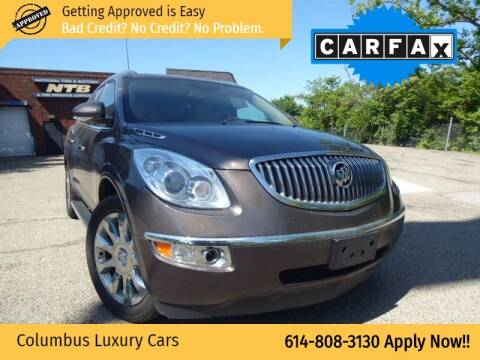 2012 Buick Enclave for sale at Columbus Luxury Cars in Columbus OH