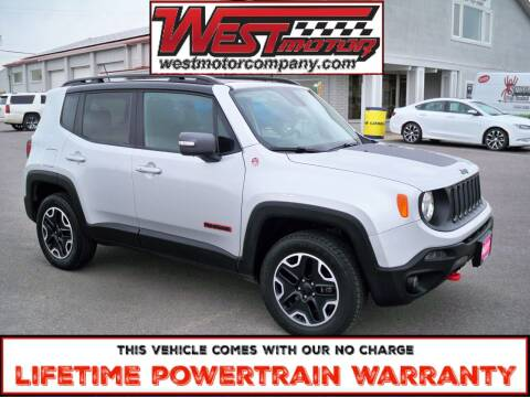 2016 Jeep Renegade for sale at West Motor Company in Hyde Park UT