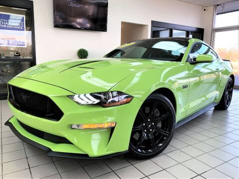 2020 Ford Mustang for sale at SAINT CHARLES MOTORCARS in Saint Charles IL
