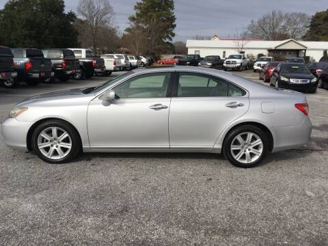 2007 Lexus ES 350 for sale at TAVERN MOTORS in Laurens SC