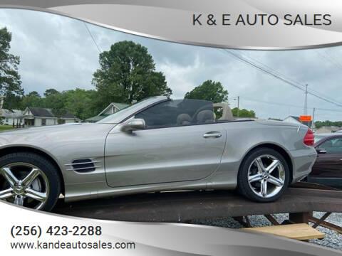 2006 Mercedes-Benz SL-Class for sale at K & E Auto Sales in Ardmore AL