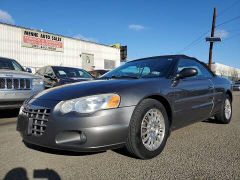 2004 Chrysler Sebring for sale at MENNE AUTO SALES in Hasbrouck Heights NJ