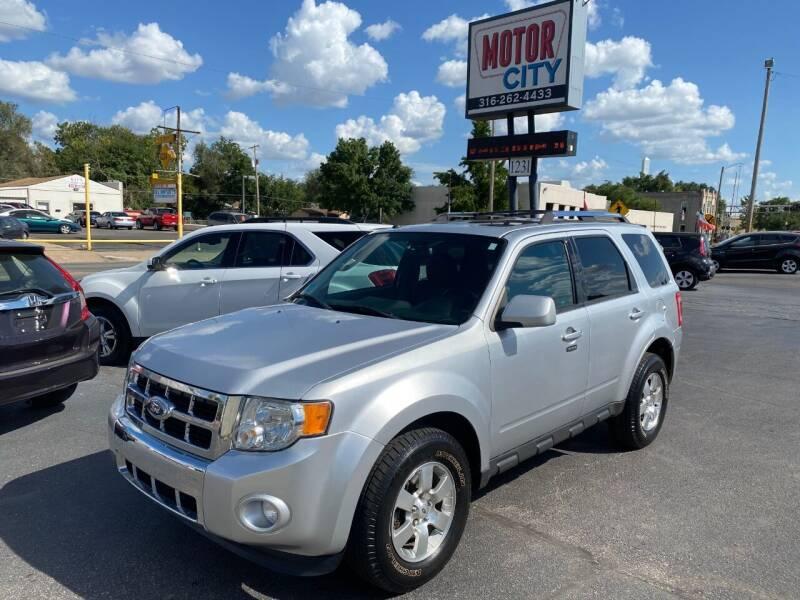 2012 Ford Escape for sale at Motor City Sales in Wichita KS