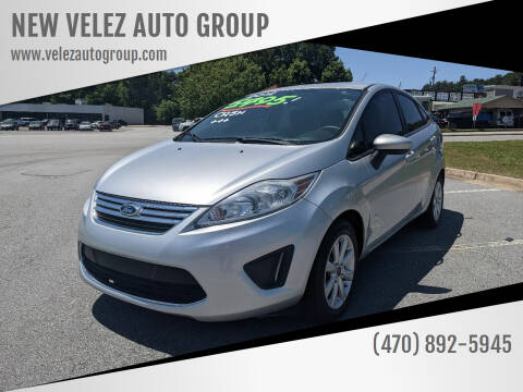 2012 Ford Fiesta for sale at NEW VELEZ AUTO GROUP in Gainesville GA